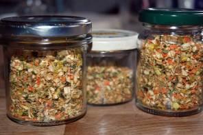 Suppenwürze selbermachen – Resteverwertung