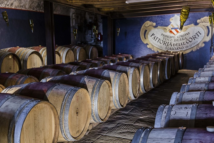 Gourmet Tour of Tuscany Chianti Cellars at Villa Le Corti