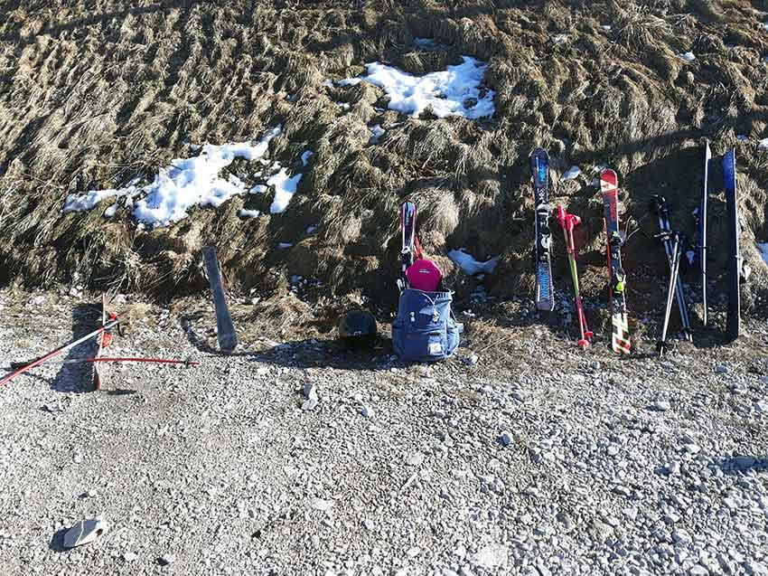 Corona Burnout verhindern mit skifahren