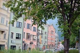 Spaziergang durch Innsbruck