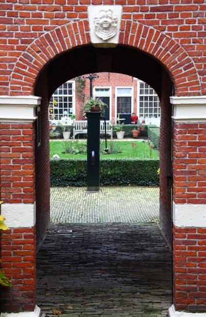 Leeuwarden begijnenhof