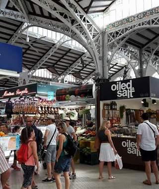 Valencia, Mercado Central, central market