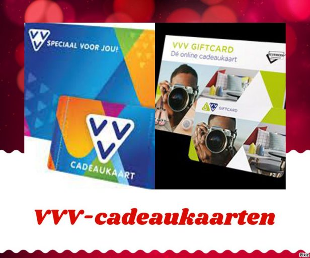 VVV-cadeaukaart versus VVV-giftcard VVV-cadeaubon