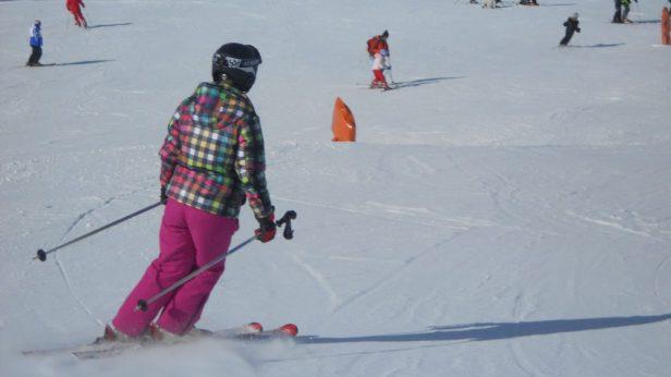 Of trek gewoon je oude vertrouwde ski-outfit aan.
