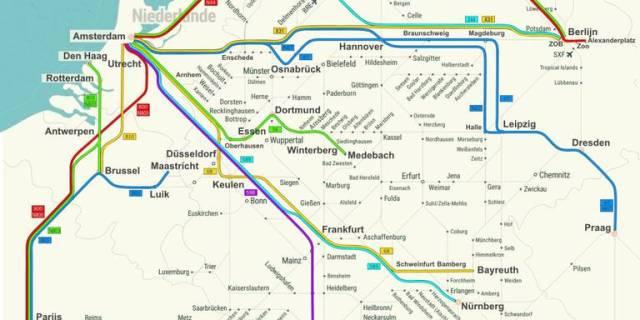 De Flixbus heeft een uitgebreid netwerk met busroutes naar Frankrijk, België, Italië én naar Nederland.