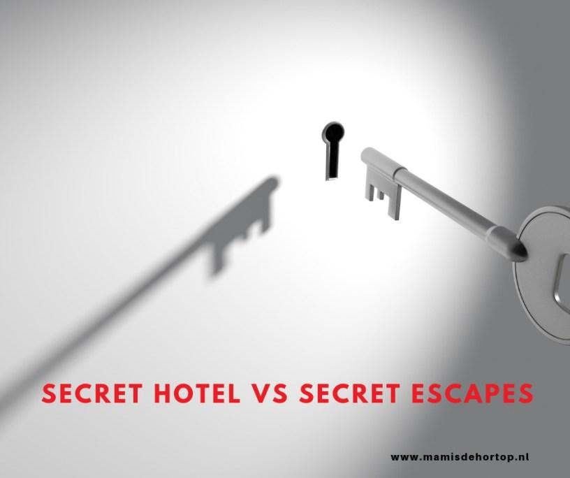 Secret hotel vs Secret Escapes