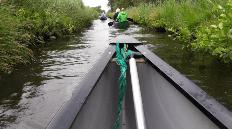 Kanoën in De Weerribben