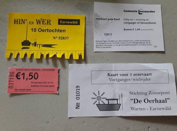 pontjesroute kaartjes