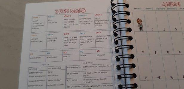 Huishoudplanner deze maand