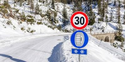 sneeuwkettingen verplicht
