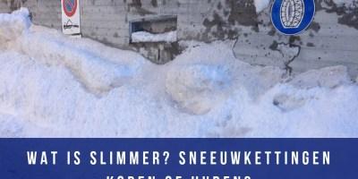 sneeuwkettingen