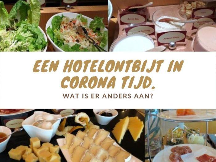 een hotelontbijt in corona tijd