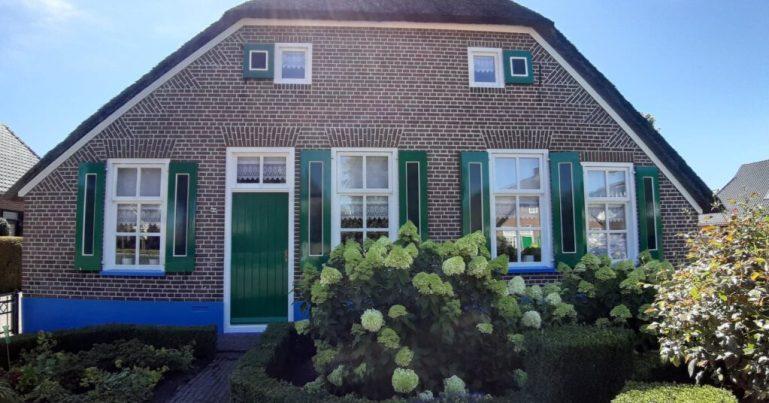 Staphorst fel blauwe dorpels