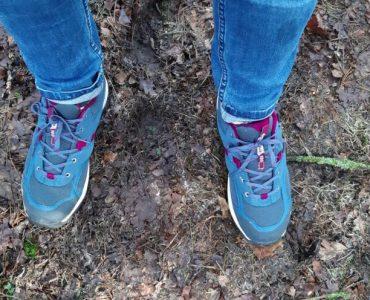 nieuwe wandelschoenen
