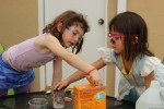 Fizzy science experiments for children