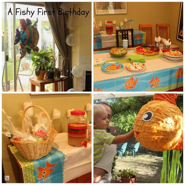 Fishy First Birthday