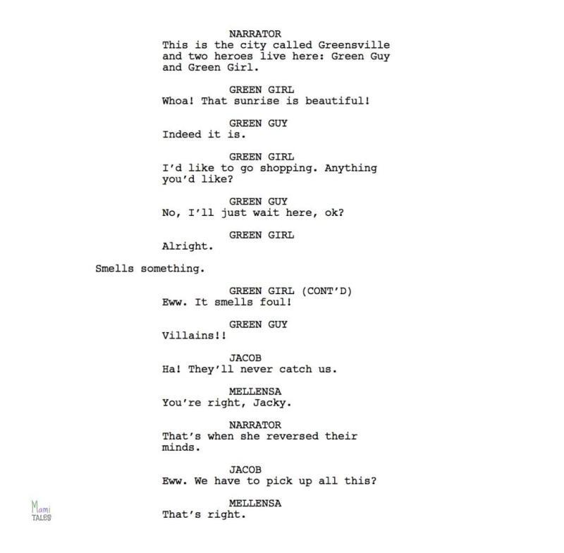 If-I-had-super-powers-script