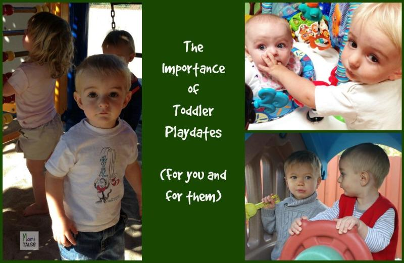 Importance of Toddler Playdates