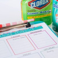 Time for Spring Cleaning + Free Cleaning Schedule Printable