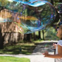 Outdoor Activity: Make Giant Bubbles