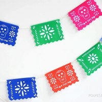Mini Printable Papel Picado: Make a Garland