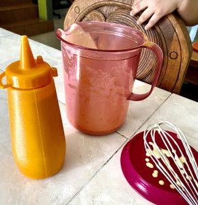 Preparación para Mini Hot Cakes