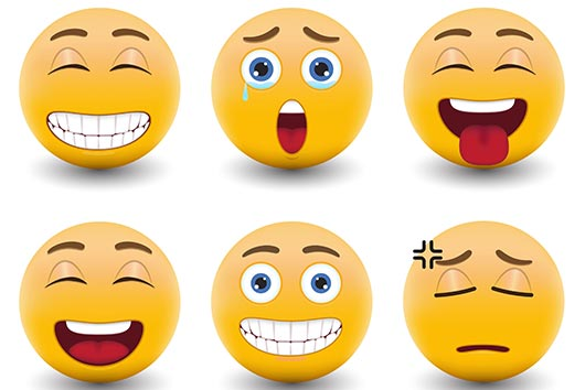 the free emoticons update
