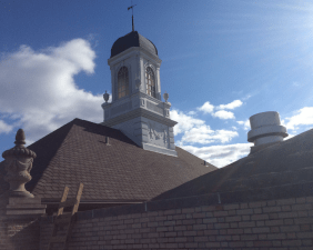 The cupola seen from the roof