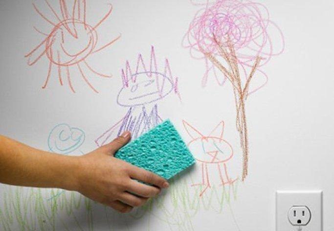 طريقة تنظيف الحوائط المدهونة بلاستيك