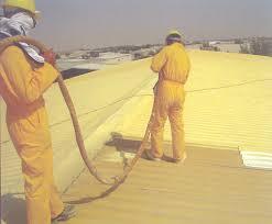 طريقة عزل الأسطح بالفوم