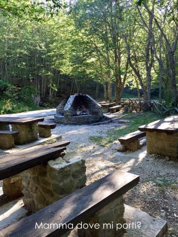 Area Barbecue2 Prati di Tivo