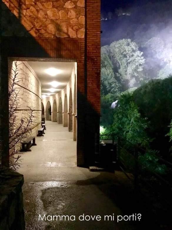 Cascata delle Marmore in Nottura Terni Umbria