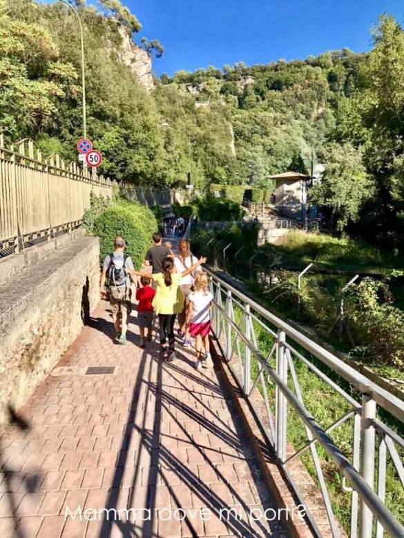 Percorso Belvedere Inferiore Cascata delle Marmore Terni Umbria