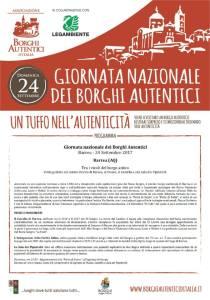 Giornata dei Borghi Autentici - Barrea - L'Aquila - Eventi per famiglie in Abruzzo