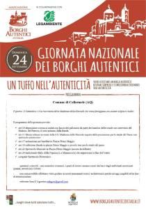 Giornata dei Borghi Autentici - Collarmele - L'Aquila - Eventi per famiglie in Abruzzo