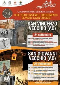 Giornata dei Borghi Autentici - San Vincenzo - Valle Roveto - L'Aquila