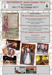 Notarisco Anno Domini 1514 - Eventi per famiglie in Abruzzo