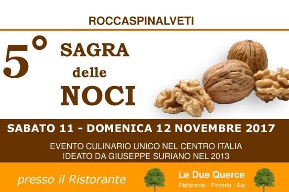 5^ Sagra delle Noci - Roccaspinalveti - Chieti - Feste d'Autunno in Abruzzo