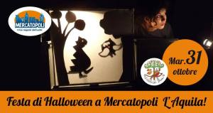 Festa di Halloween-Mercatopoli-L'Aquila