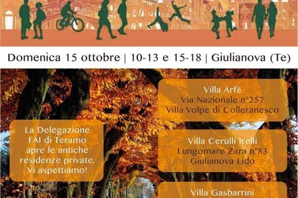 Giornata Fai d'Autunno - Giulianova - Teramo