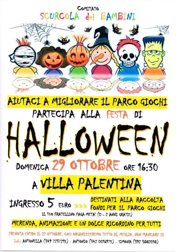Halloween-Villa-Palentina-Scurcola-Marsicana