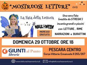 Mostruose Letture - Halloween - La Fata della Lettura - Libreria Giunti al Punto - Pescara