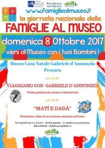 Museo Casa Natale D'Annunzio - Pescara - F@Mu Famiglie al Museo