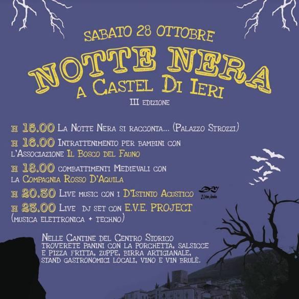 Notte-Nera-Halloween-Castel-di-Ieri-L-Aquila