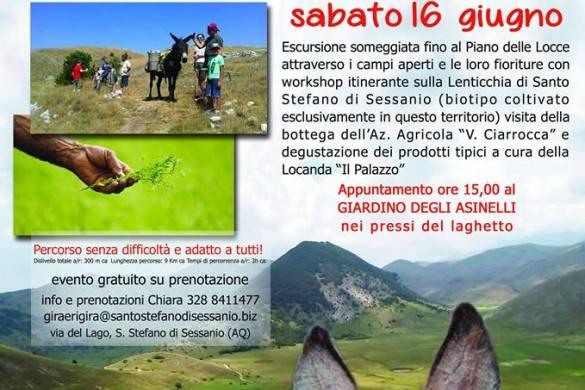 Alla scoperta della Lenticchia a Passo d'Asino - Santo Stefano di Sessanio - L'Aquila