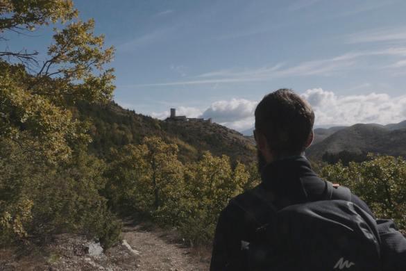 Cammino nella Valle delle Abbazie - Val Vomano - Teramo