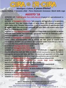Eventi estivi Gira e Rigira - Agosto - Santo Stefano di Sessanio - L'Aquila