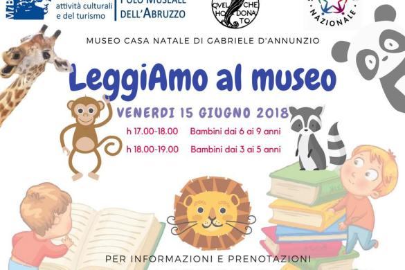 Leggiamo al Museo - Museo Casa Natale D'Annunzio - Pescara