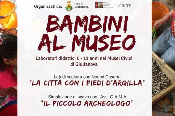 Bambini al Museo - Giulianova - Teramo - Eventi per famiglie Abruzzo