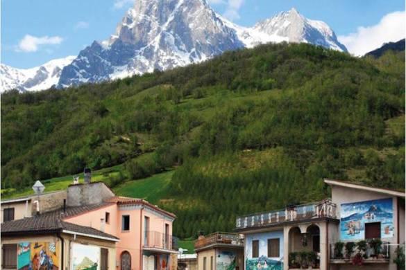 I Muri raccontano - Azzinano Tossicia - Teramo - Sagre in Abruzzo